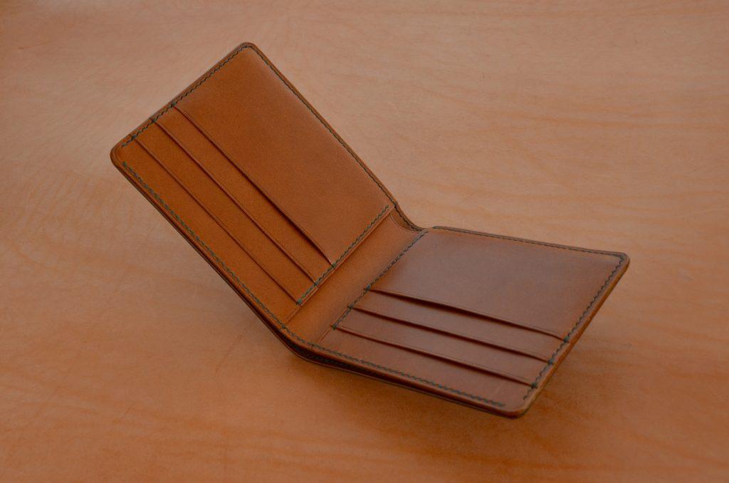 Six Slot Hand Made Bifold Wallet