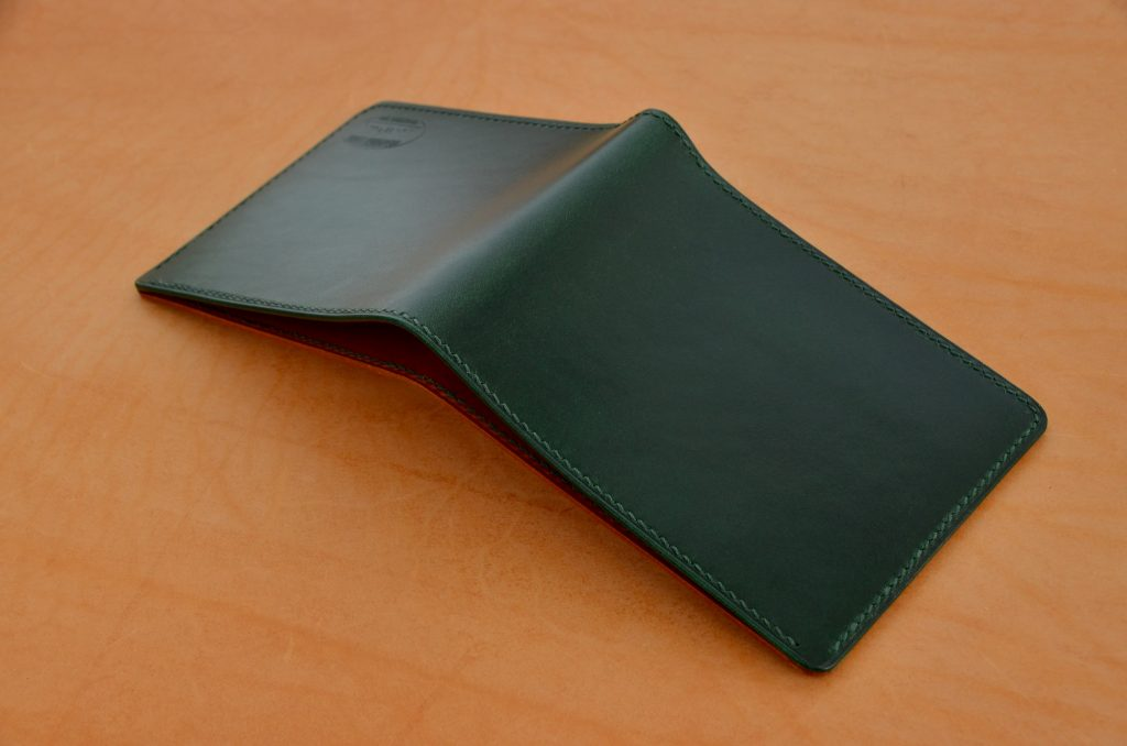 Green Buttero Bifold Wallet