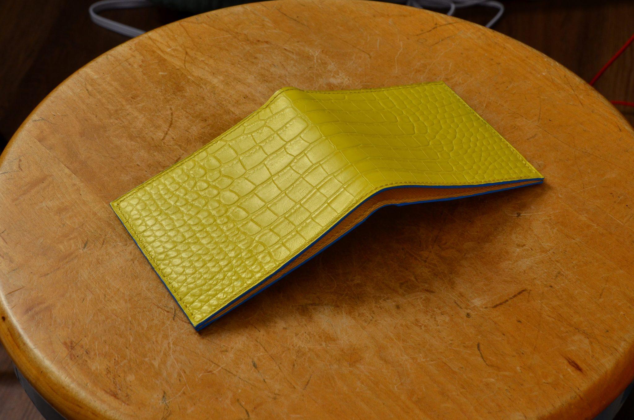 Yellow Alligator Wallet